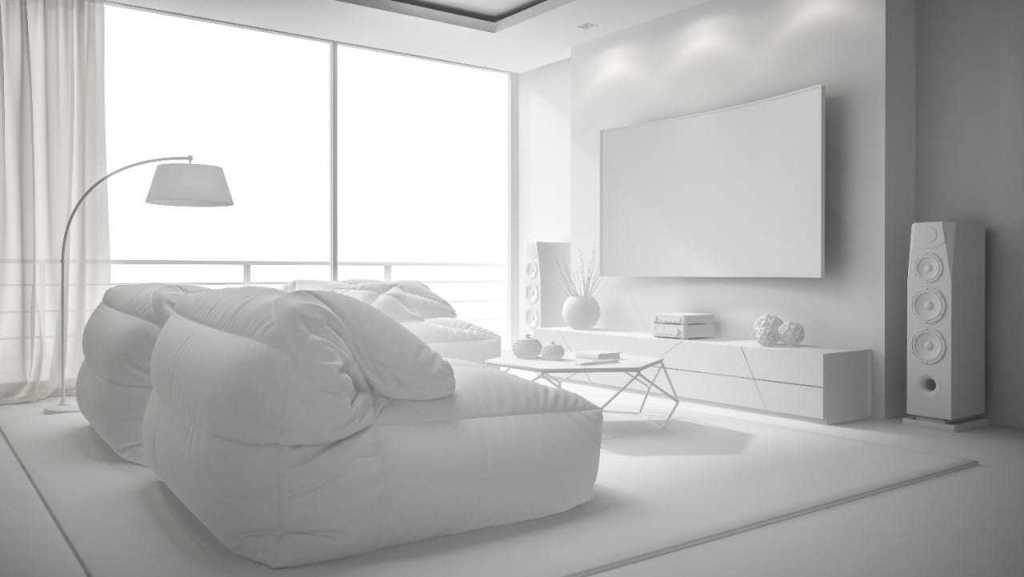 a tidy home interior